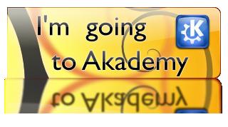 I\'m going to Akademy 2008