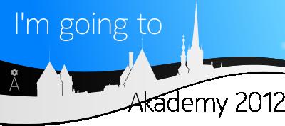 I'm going to Akademy 2012